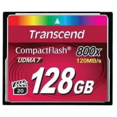 Transcend Compact Flash 128GB 800x
