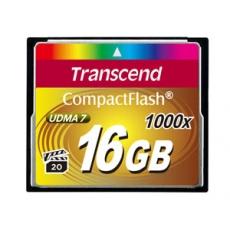 Transcend Compact Flash     16GB 1000x