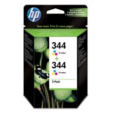 HP C 9505 EE ink cartridge color (2x C 9363 EE No. 344)