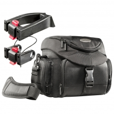 mantona Set Premium Biker Photo Bag incl. 2 Adapter