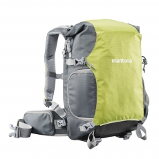 mantona ElementsPro 30 Outdoor Camera Backpack green
