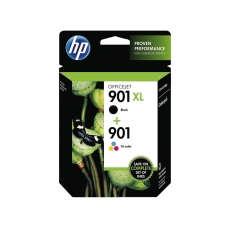 HP SD 519 AE twin pack black No. 901 XL and color No. 901