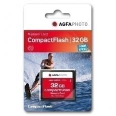 AgfaPhoto Compact Flash     32GB High Speed 300x MLC