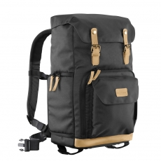 mantona Photo Backpack Luis green Retro