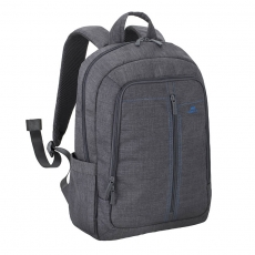 Rivacase 7560 Backpack 15,6 Grey Canvas Material