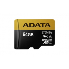 ADATA microSDXC UHS-II U3 64GB Premier One with Adapter