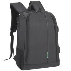 Rivacase 7490 (PS) Backpack black Elegant