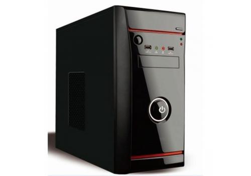 Κουτί Micro ATX και Τροφοδοσία Ρεύματος L-Link MIRCO 500W Μαύρο
