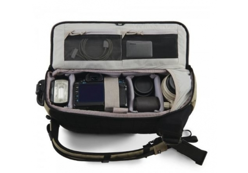 Pacsafe Camsafe Z14 Camera & Tablet Bag Green