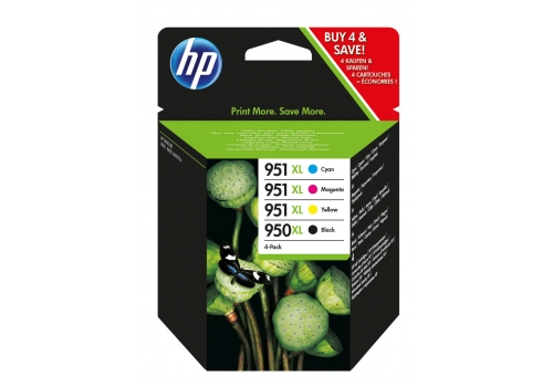 HP C2P43AE Multipack BK/C/M/Y No. 950 XL and 951 XL