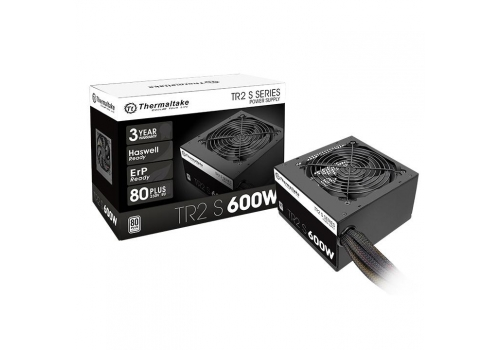 Thermaltake TR2 S 600W 600W ATX Μαύρος (Μαύρο), Κόκκινο power supply unit